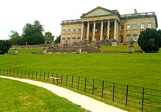 John Wood, the Elder - Prior Park, the Palladian mansion built in 1742 for Ralph Allen