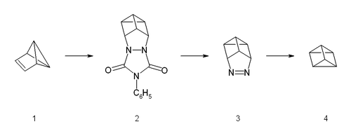 Synthesis of Prismane
