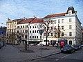 Prokopovo náměstí, od jihovýchodu k hotelu Dalimil.jpg