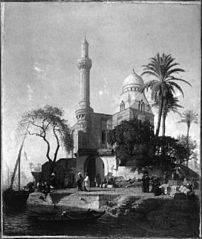 Landscape with Mosque