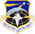 Protected SATCOM Gp emblem.png