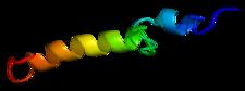 Struktura molekuly parathormonu