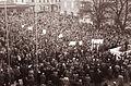 Protestno zborovanje na mariborskem Trgu svobode ob umoru kongovskega predsednika Patricea Lumumbe 1961 (3).jpg