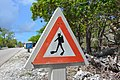 Provisional road sign (Bonaire 2014) (15694050742).jpg