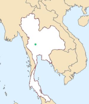 White-eyed river martin - Image: Pseudochelidon sirintarae map