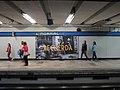 Publicidad de Roma en la estación del Metro Normal.jpg