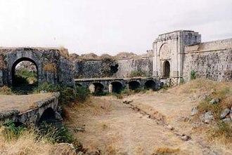Aldea del Obispo - Castle of Real Fuerte de la Concepción, was a star fortress on the Spanish-Portuguese border.