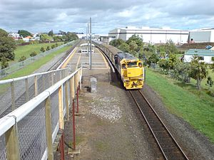 Puhinui Railway Station - Puhinui Train Station as seen in 2008