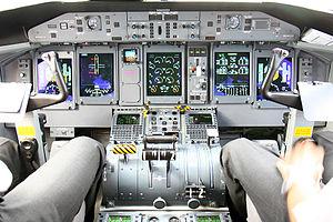 Bombardier Dash 8 - Modern Q400 cockpit