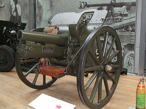 1st Cinque Ports Artillery Volunteers - 4.5-inch howitzer at the Royal Artillery Museum.