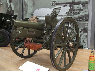 2nd (Seaham) Durham Artillery Volunteer Corps - 4.5-inch howitzer preserved at the Royal Artillery Museum.