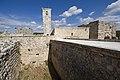 Qal'at Salah ed-Din aka Sahyun Castle behind entrance 4099.jpg