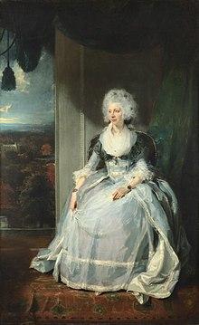 Porträt der Königin Charlotte. Thomas Lawrence, 1789–1790 (Quelle: Wikimedia)