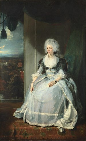 Thomas Lawrence - Lawrence's first royal commission: Queen Charlotte