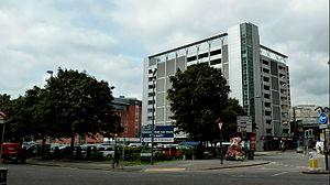 Criterion Place - Image: Queens Hall car park Leeds 019