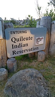Quileute Indian Reservation reservation in Washington State, USA