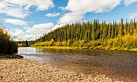 Río West Fork Dennison, Alaska, Estados Unidos, 2017-08-28, DD 109.jpg