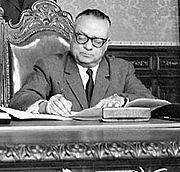 Rómulo Betancourt, 1961
