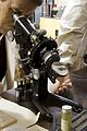 R.C.A. EMU-2B transmission electron microscope with bench an Wellcome L0057856.jpg