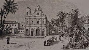 Diogo Rodrigues - Igreja da Nossa Senhora de Neves and the Rachol Fort