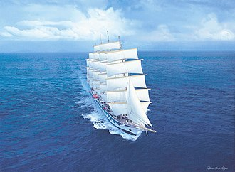 Royal Clipper - Image: RC Painting