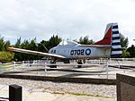 ROCAF T-CH-1 0702 Display at Aviation Museum Left Rear View 20130928.jpg