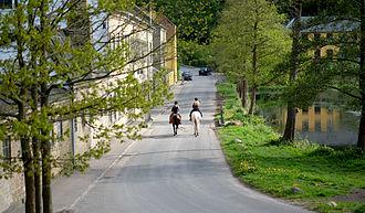 Raadvad - Horseback riding at Raadvad