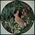 Rabbit amid Ferns and Flowering Plants (W.J.Webbe).jpg