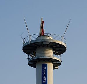 Radar tower airport Frankfurt - Radarturm Flughafen Frankfurt - 02a.jpg