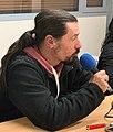 Radio Pluriel à Rillieux-la-Pape en février 2020 avec l'association Solidarité Afrique - Frédéric Leguet, Président de Solidarité Afrique.jpg