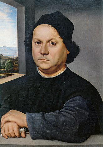 Portrait of Perugino (Raphael) - Image: Rafael Retrato de Pietro Perugino FXD