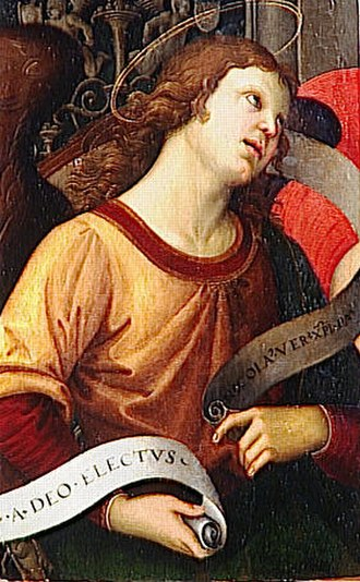 Baronci Altarpiece - Image: Raffaello Angelo 2