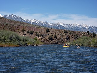 East Fork Carson River - Rafting the East Fork of the Carson River