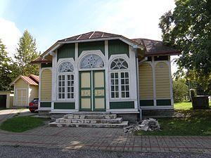 Rahumäe cemetery - Image: Rahumäe Juudi kalmistu kabel 2