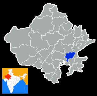 Bundi district District of Rajasthan in India