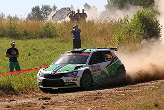 Esapekka Lappi - Lappi during 2015 Rally Poland.