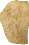 RamessesIV-SmitingHisEnemiesOnAnOstracon MuseumOfFineArtsBoston