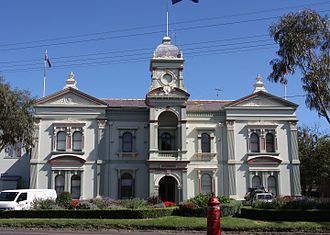 Randwick, New South Wales - Randwick Town Hall, Avoca Street