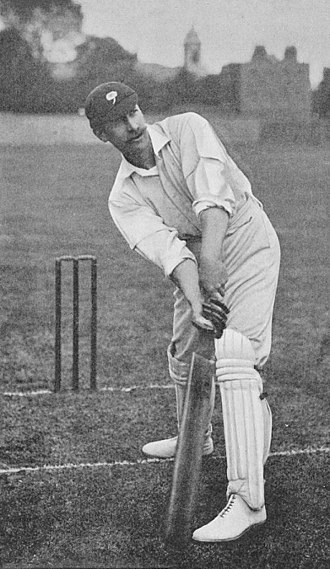 Archie MacLaren - Image: Ranji 1897 page 189 F. S. Jackson making an on drive