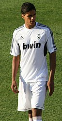 Raphaël Varane in Real Madrid