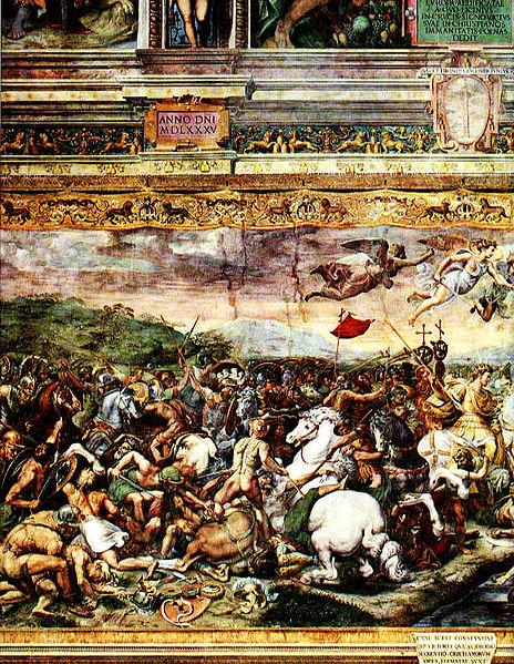 File:Raphael-Constantine at Milvian Bridge.jpg