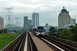 Prasarana Malaysia - Image: Rapid KL Kelana Jaya line Petaling Jaya