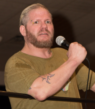 Raven (wrestler) - Raven in March 2013
