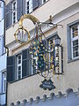 Ravensburg Marktstraße Wirtshausschild Drei Könige.jpg