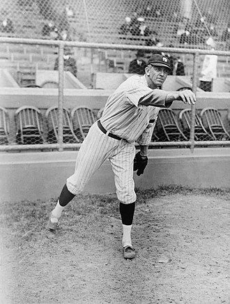1919 Major League Baseball season - Pictured is Ray Caldwell before his move from the Yankees to the Indians, whose eventful 1919 season included throwing a no-hitter and being struck by lightning during the 9th inning of a game.