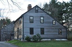 Carroll–Hartshorn House - Image: Reading MA Carroll Hartshorn House