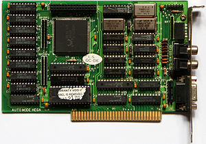Realtek - EGA graphic card with Realtek RTG3101