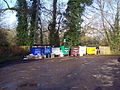 Recycling Area at Winterbourne Gunner - geograph.org.uk - 311455.jpg