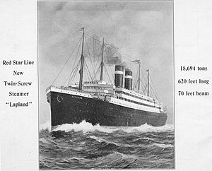SS Lapland - SS Lapland
