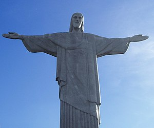 Soapstone - The outer layers of the Christ the Redeemer sculpture in Rio de Janeiro are made of soapstone.